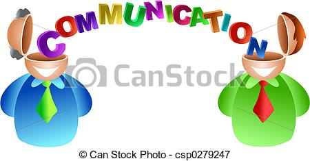 ... communication brain - two men with good communication skills... ...