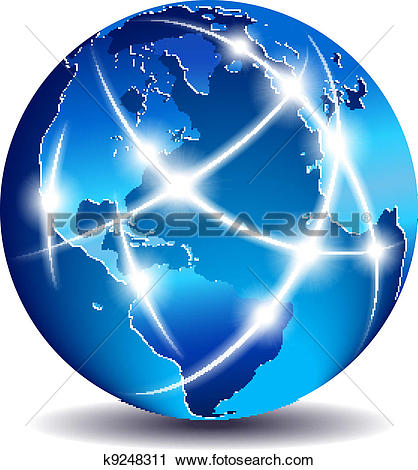 Communication World Global Co - Global Clipart