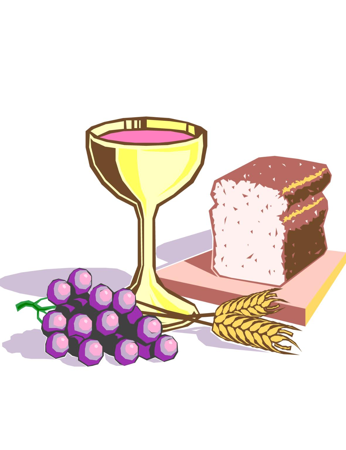Communion Clip Art Symbols