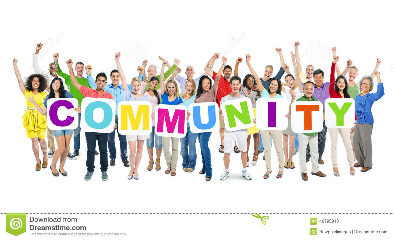 Community Group Clipart #1