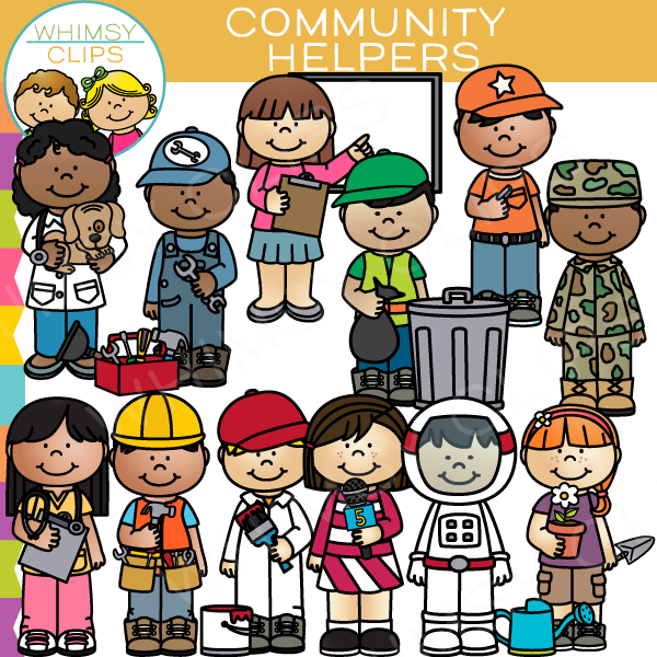 ... Community Helpers Clip Art