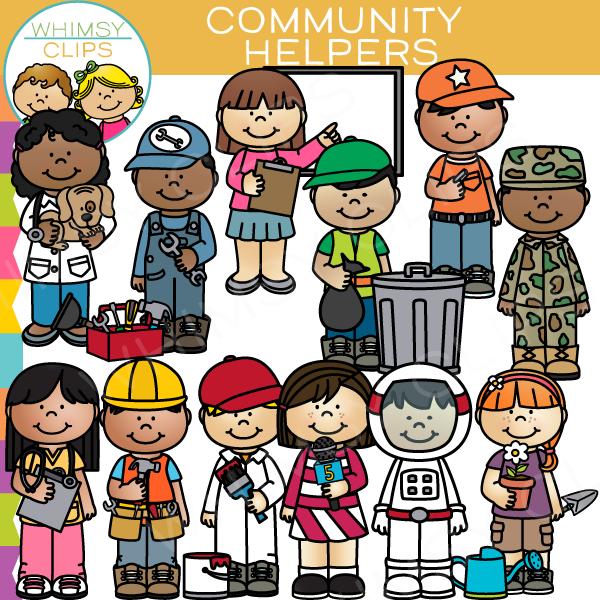 ... Community Helpers Clip Art-... Community Helpers Clip Art-4