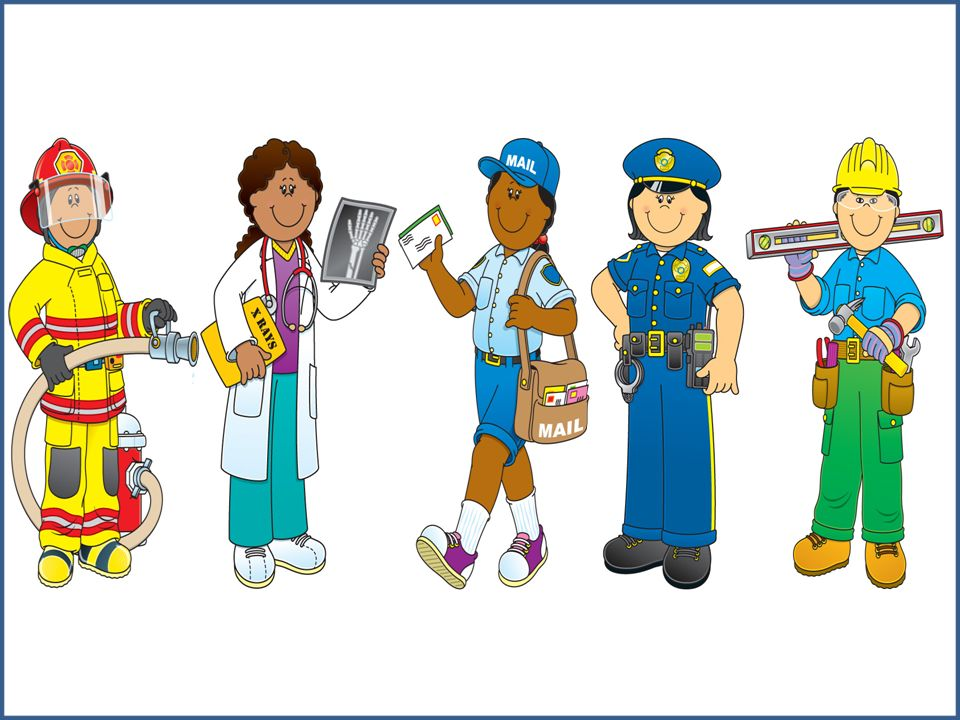 Community Helpers Clip Art ..