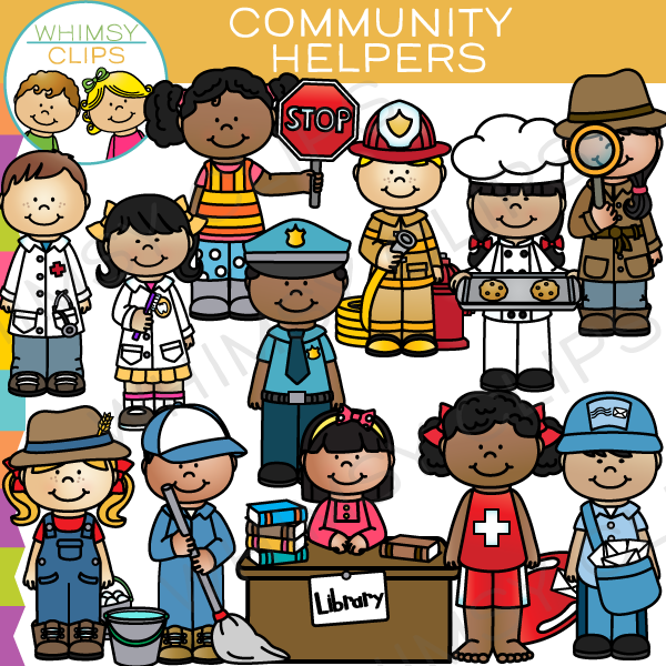 Community Helpers Clip Art Community Hel-Community Helpers Clip Art Community Helpers Clip Art ...-8