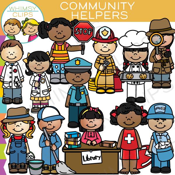 Community Helpers Clip Art Community Hel-Community Helpers Clip Art Community Helpers Clip Art ...-4