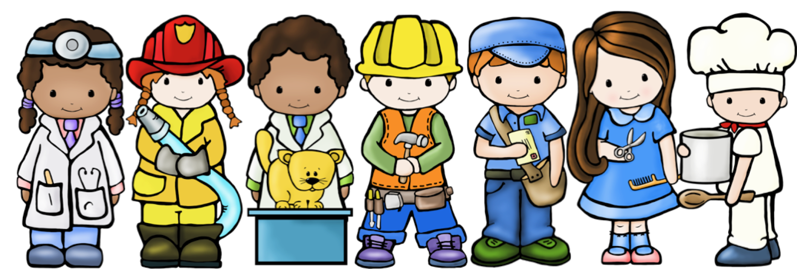 Community Helpers Clipart-Community Helpers Clipart-0
