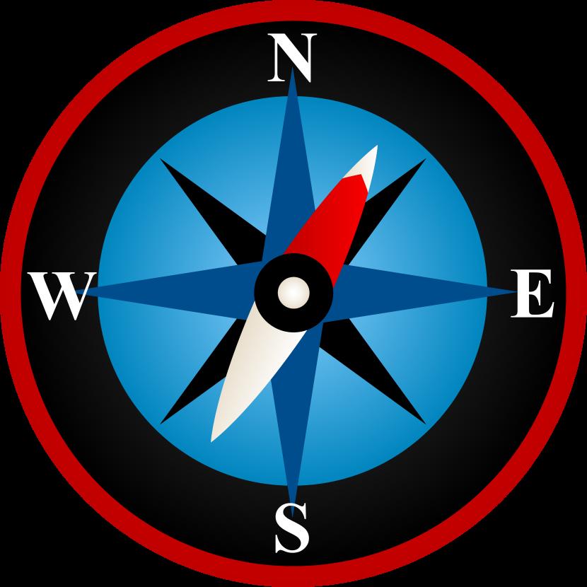 Compass Clip Art u0026middot; « More Compass Clip Art