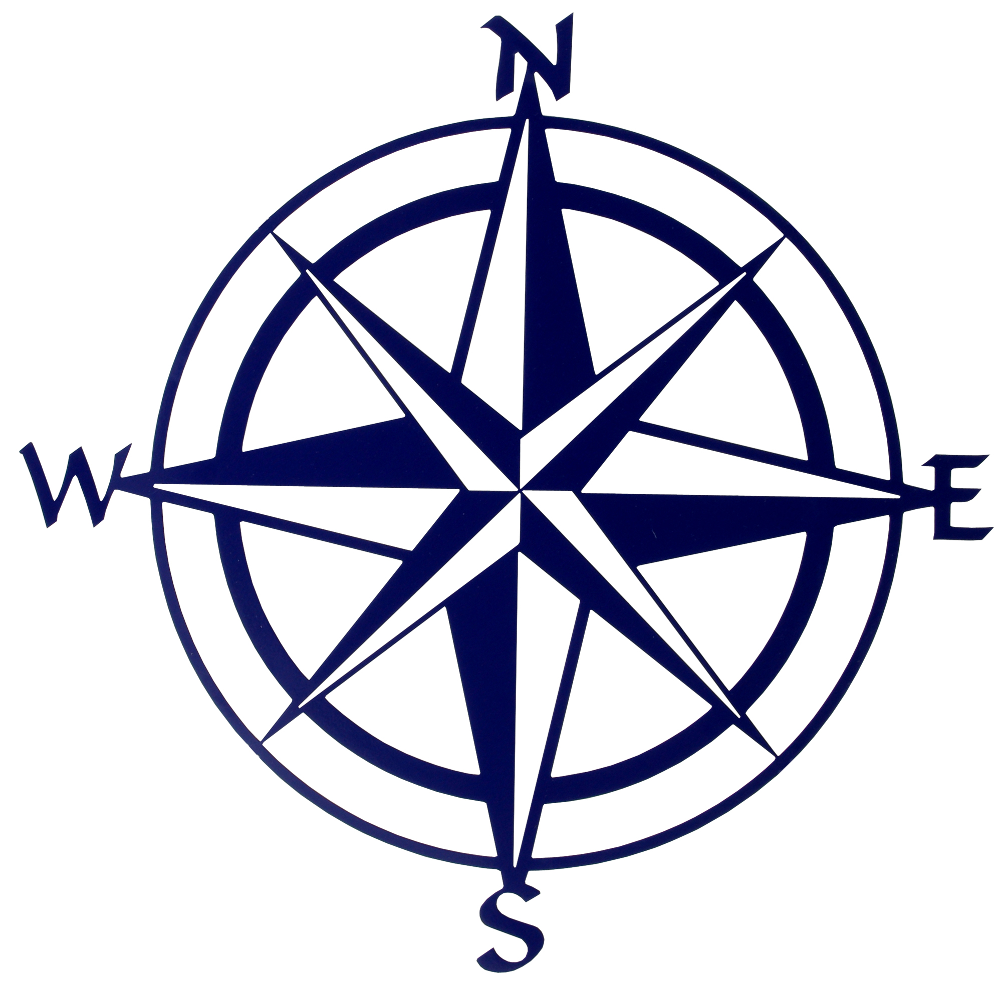 Compass clipart 0 north .