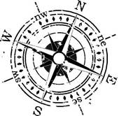 Compass clipart and illustrations