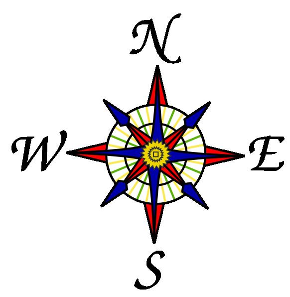 Compass Rose Clip Art At Clker Com Vector Clip Art Online Royalty