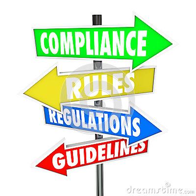 Compliance Rules Regulations