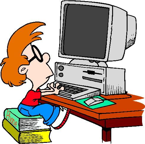computer clipart for kids-computer clipart for kids-0