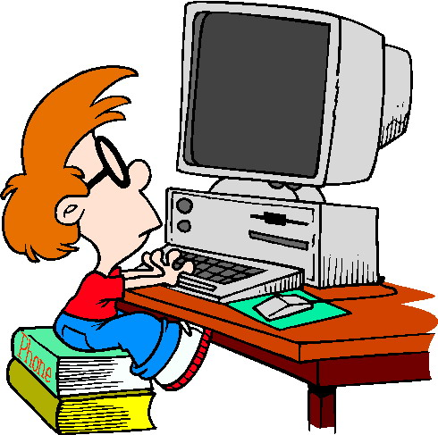 computer clipart for kids - Clipart Computer