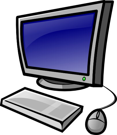 Computer Clip Art. Desktop Co - Clipart Of A Computer