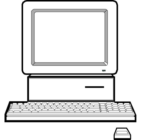 Computer clip art for kids free clipart images