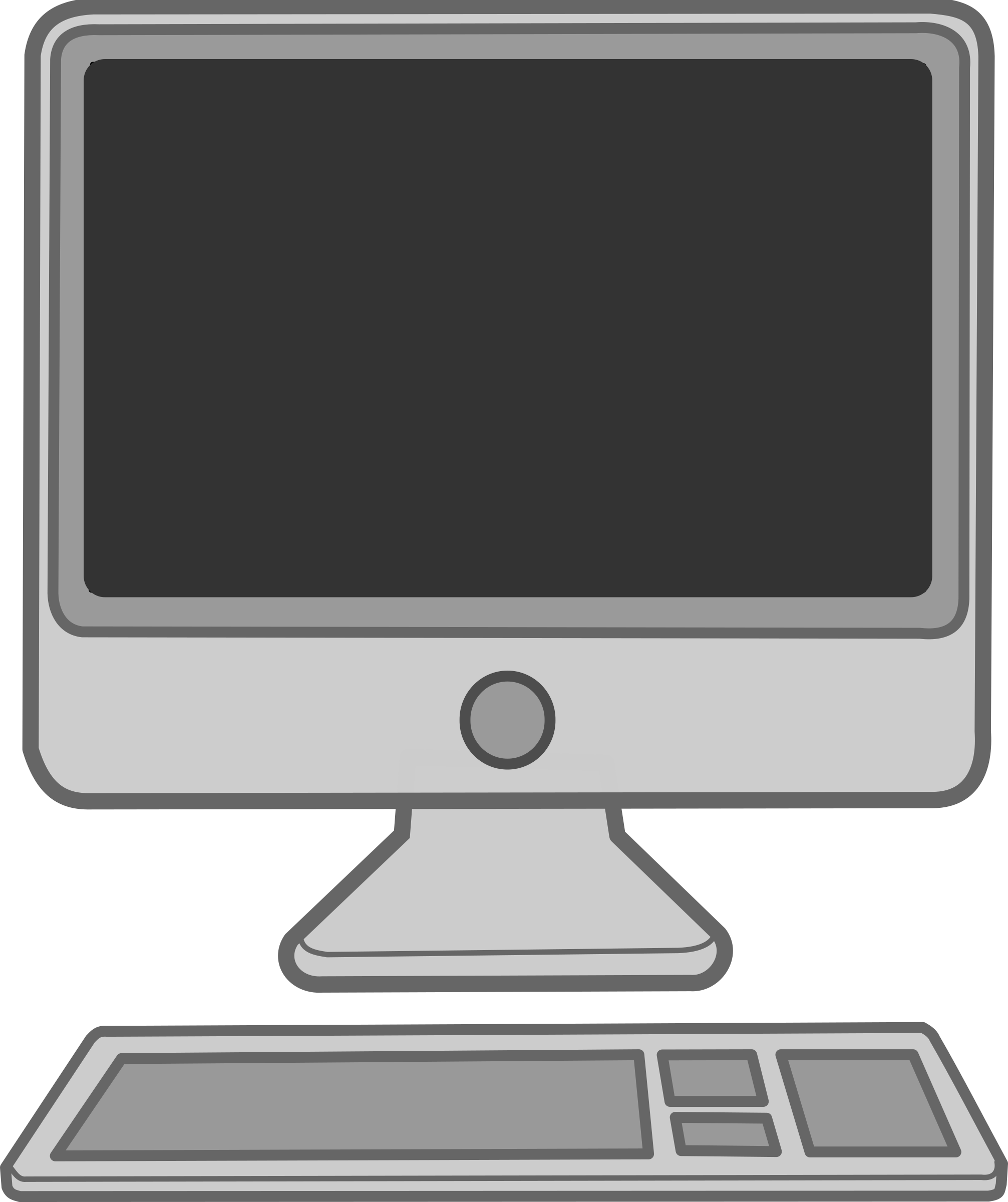 Computer Clipart #216 - Computer Images Clipart