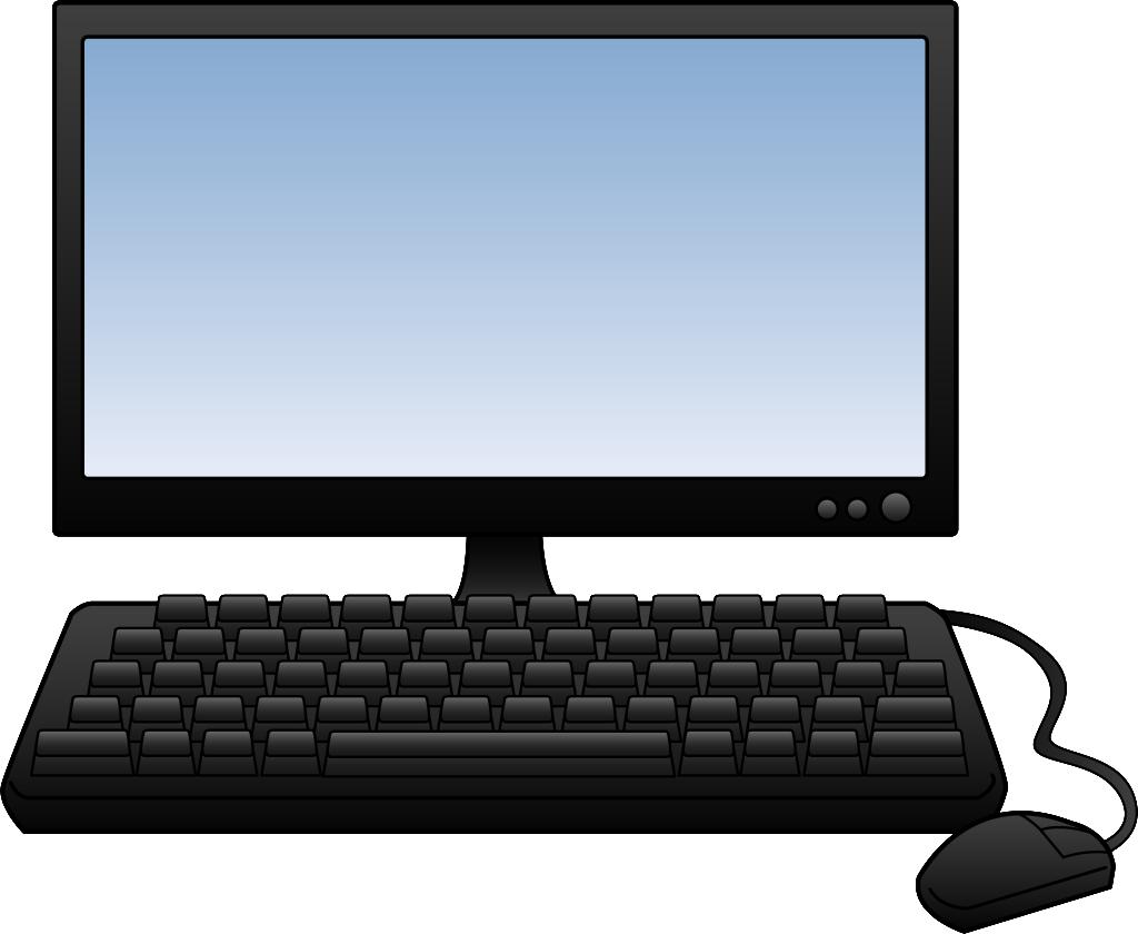 computer clipart desktop comp - Clipart Of A Computer
