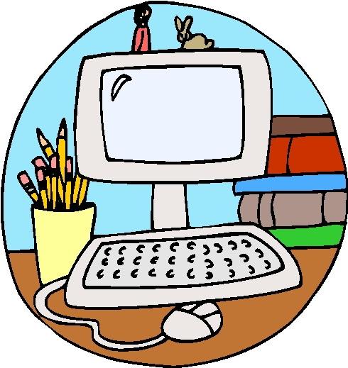 Computer Kid Clipart - Computer Clip Art