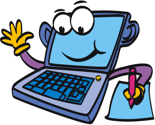 Animated Computer Clip Art Cl