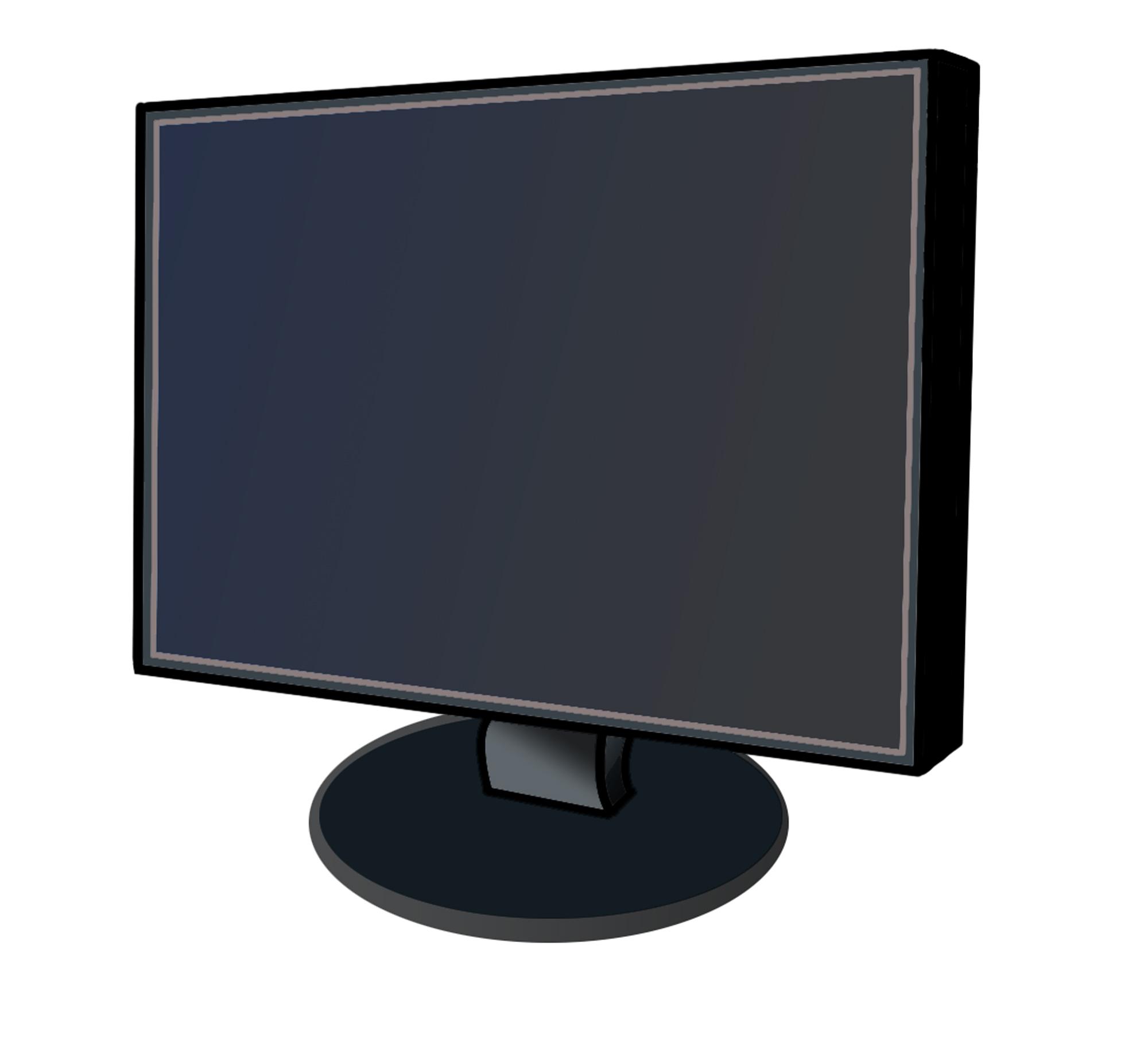 Computer Monitor Screen Clip Art Images -Computer Monitor Screen Clip Art Images Pictures - Becuo-2