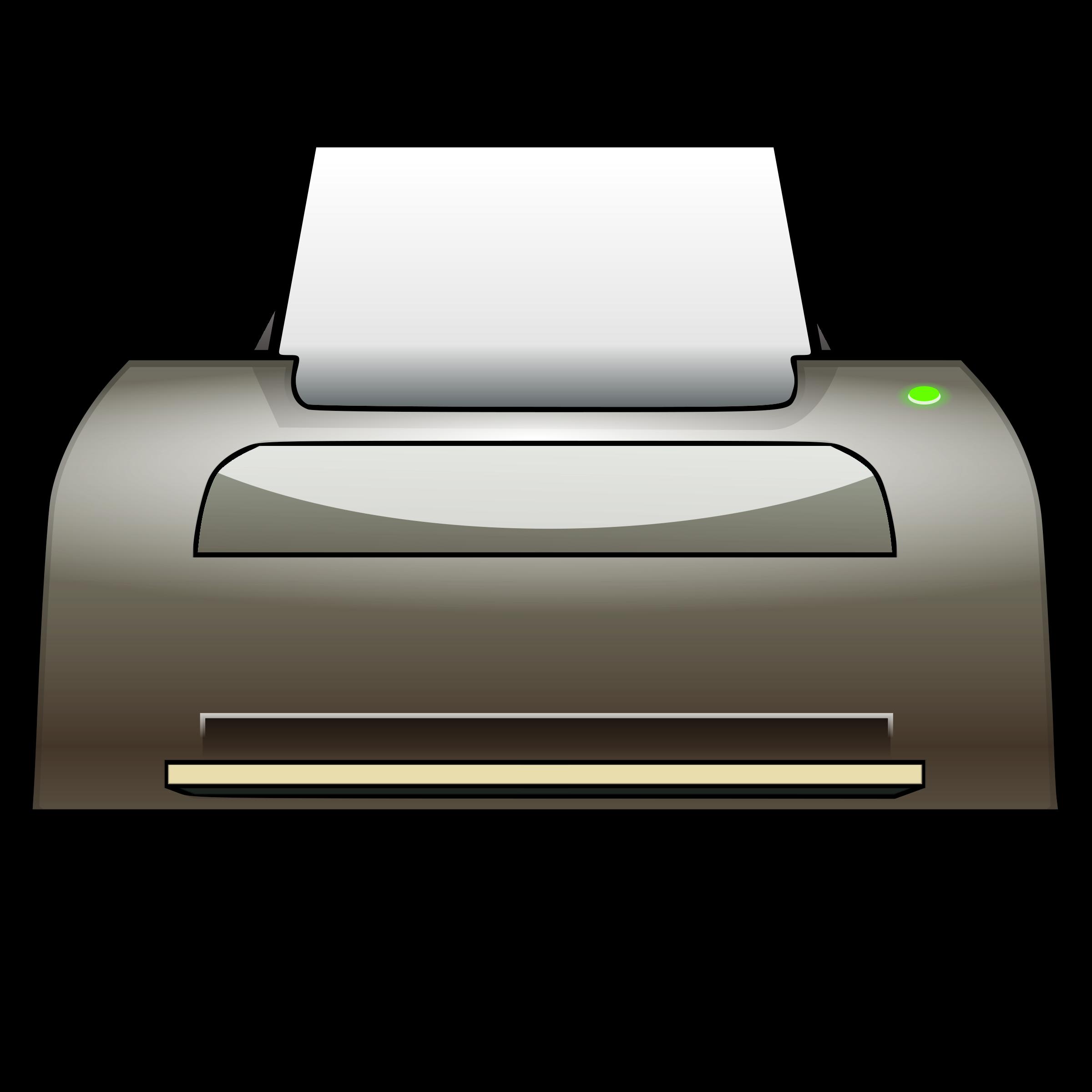 Computer Printer Clipart Clip - Printer Clip Art