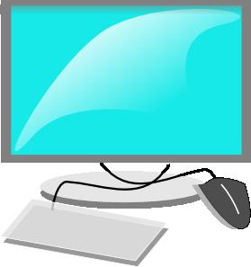 Computer Terminal Clip Art
