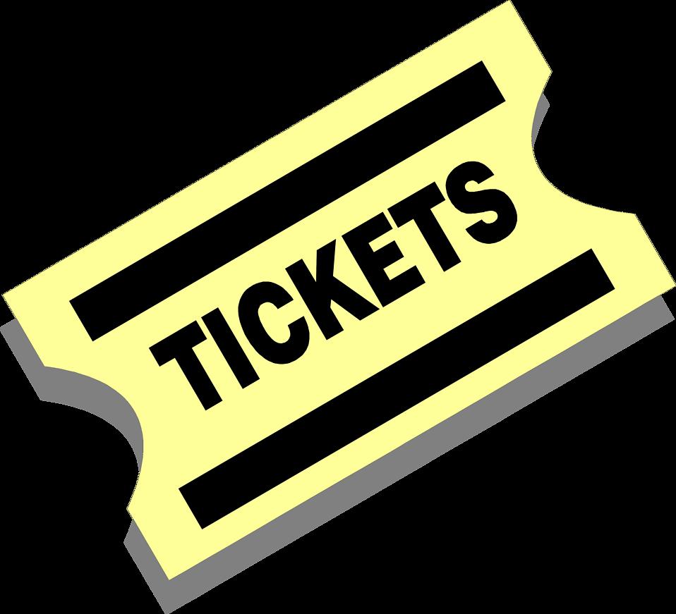 Concert Ticket Clipart Cliparthut Free Clipart