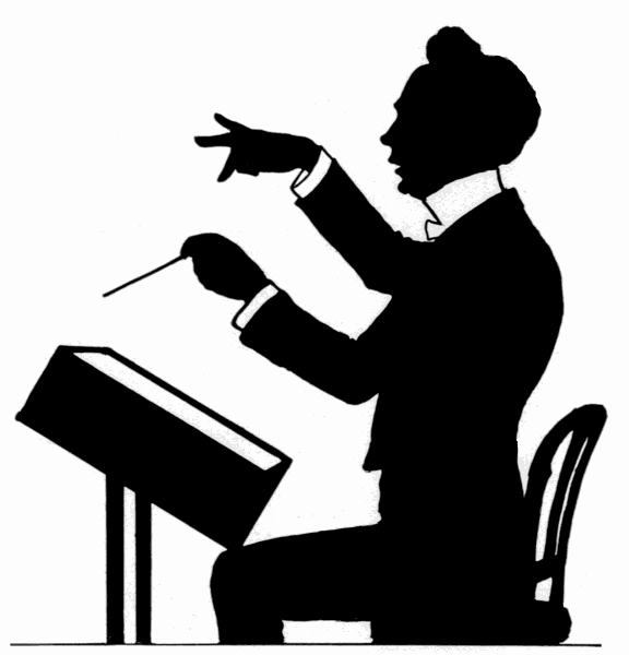 Conductor Seated Clip Art ..-Conductor Seated Clip Art ..-15