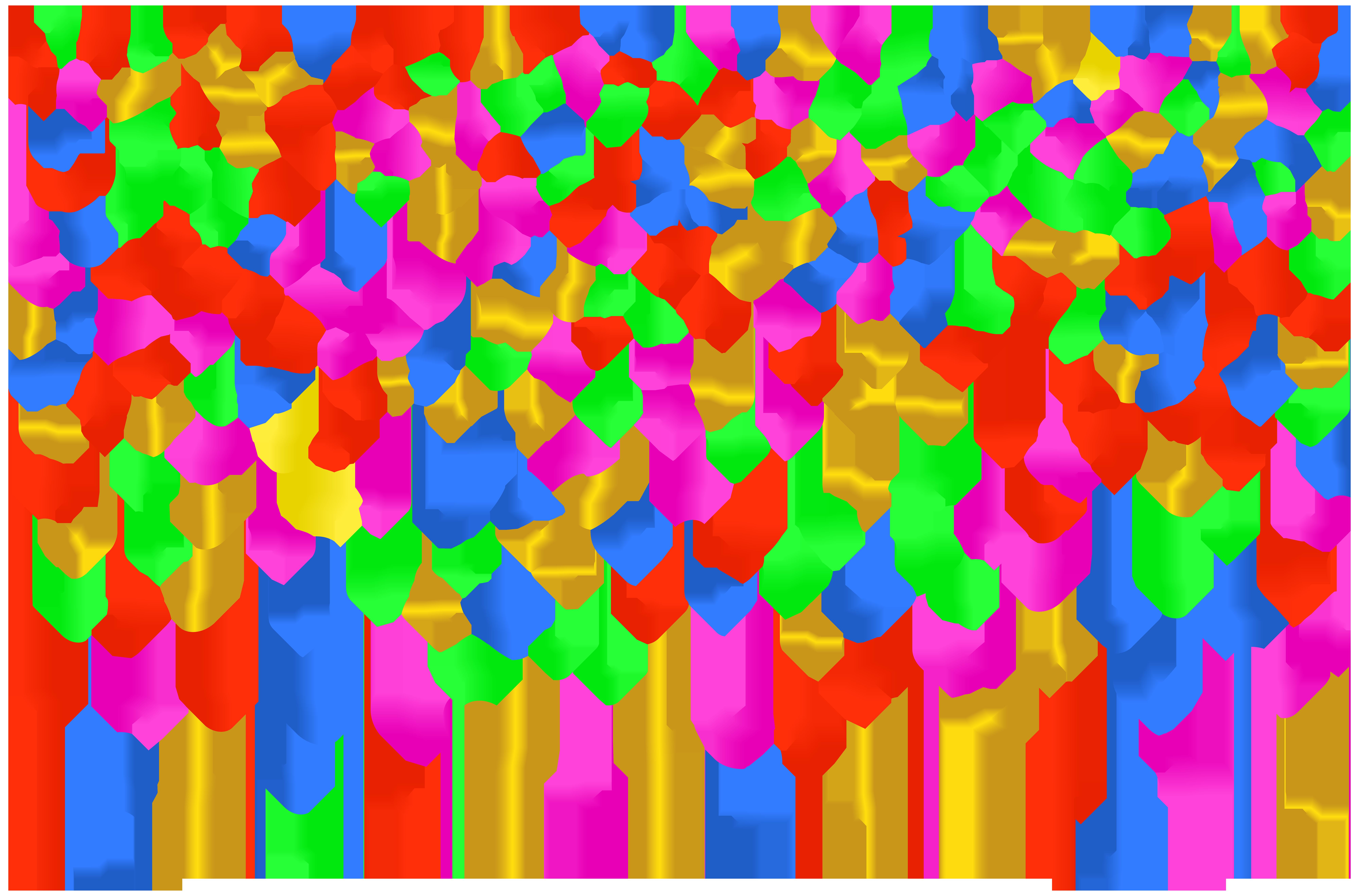 insert multicolored confetti