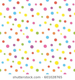 Colorful confetti pattern. Funny polka d-Colorful confetti pattern. Funny polka dots. For birthday and party design.  Raster copy-13