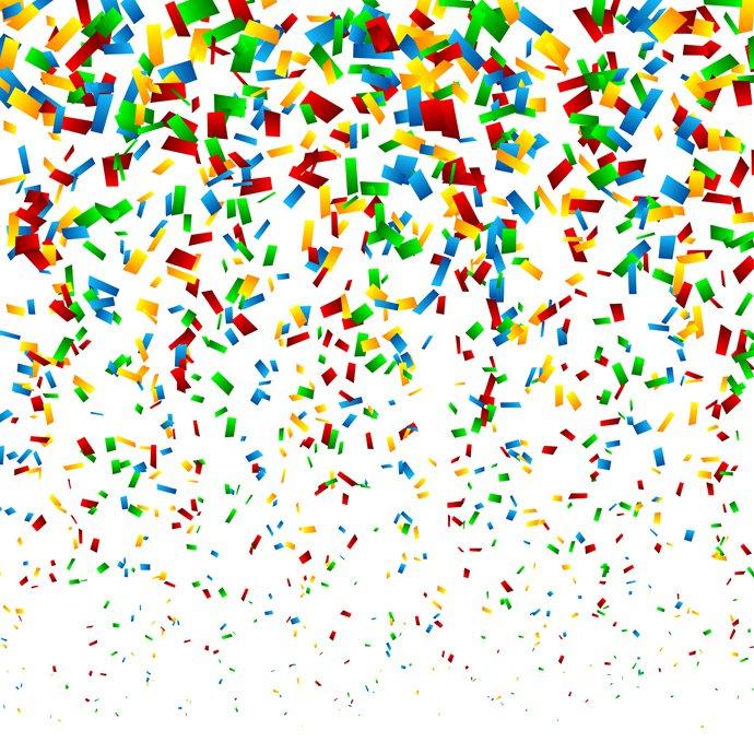 Confetti clipart free vector graphics freevectors