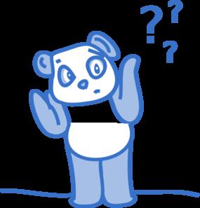 Confused Panda Clip Art At Clker Com Vec-Confused Panda Clip Art At Clker Com Vector Clip Art Online Royalty-10