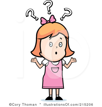 Confused People Clipart .