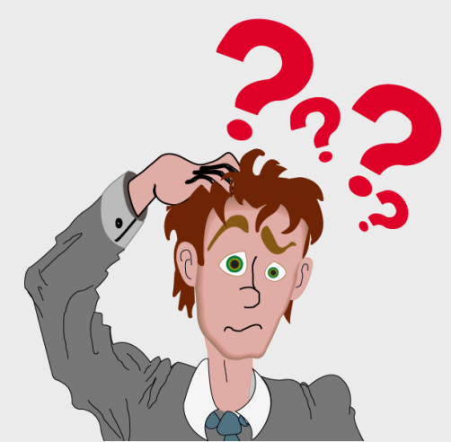Confused Person Clipart - clipartall