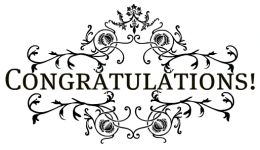 Congratulations clipart anima
