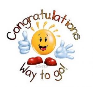 ... Congratulations animated clipart ...