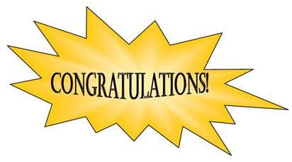 Congratulations Clip Art .-Congratulations clip art .-6
