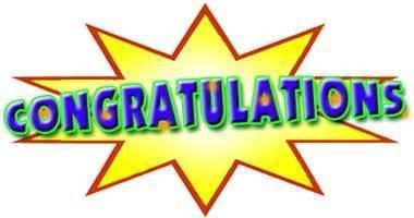 Congratulations Clipart Image