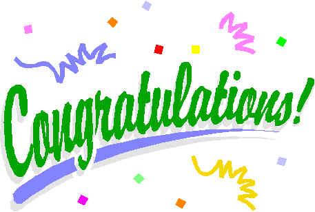 Congratulations clipart images