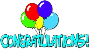 Congratulations clipart anima