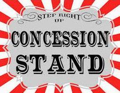 Consession Stand. Consession Stand. common concessions