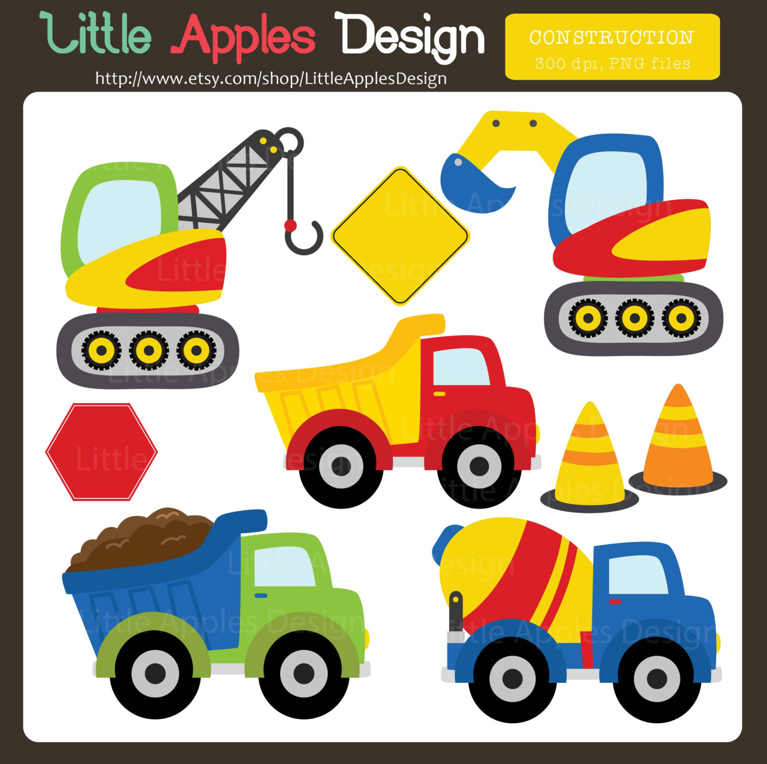 Construction Clip Art / Const - Clip Art Trucks