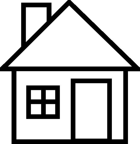 Construction House Clip Art . - Clip Art Of A House