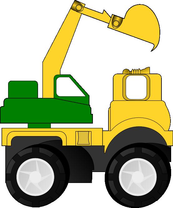 Construction Truck Clip Art-Construction truck clip art-17