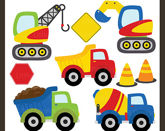 Construction Vehicle Clipart #1