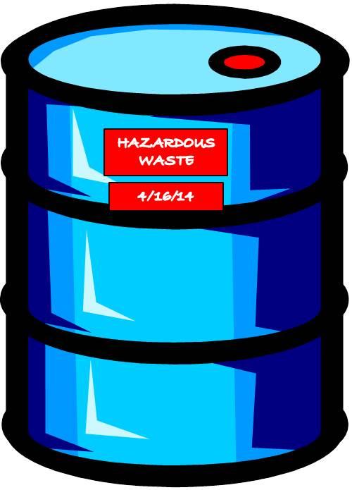 Clip Art Hazardous Containers Clipart #1