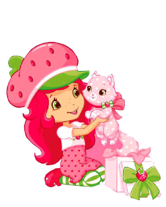 Contemporary Strawberry Shortcake Clipart Free Clip Art Images