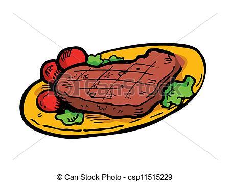 Cooked Steak Clipart Clipart  - Clipart Steak