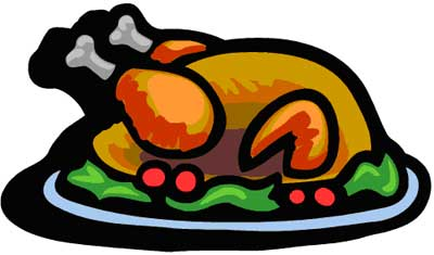 Cooked Turkey Clipart #11368