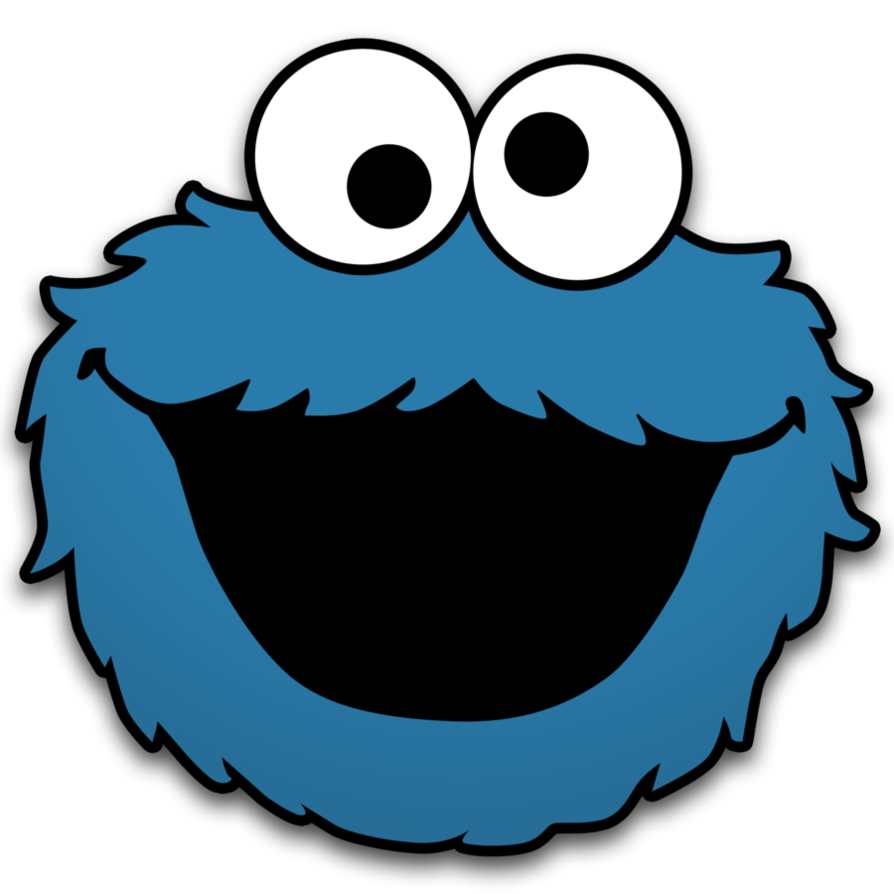Cookie Monster Clip Art Cookie Monster By Neorame D4yb0b5 Png